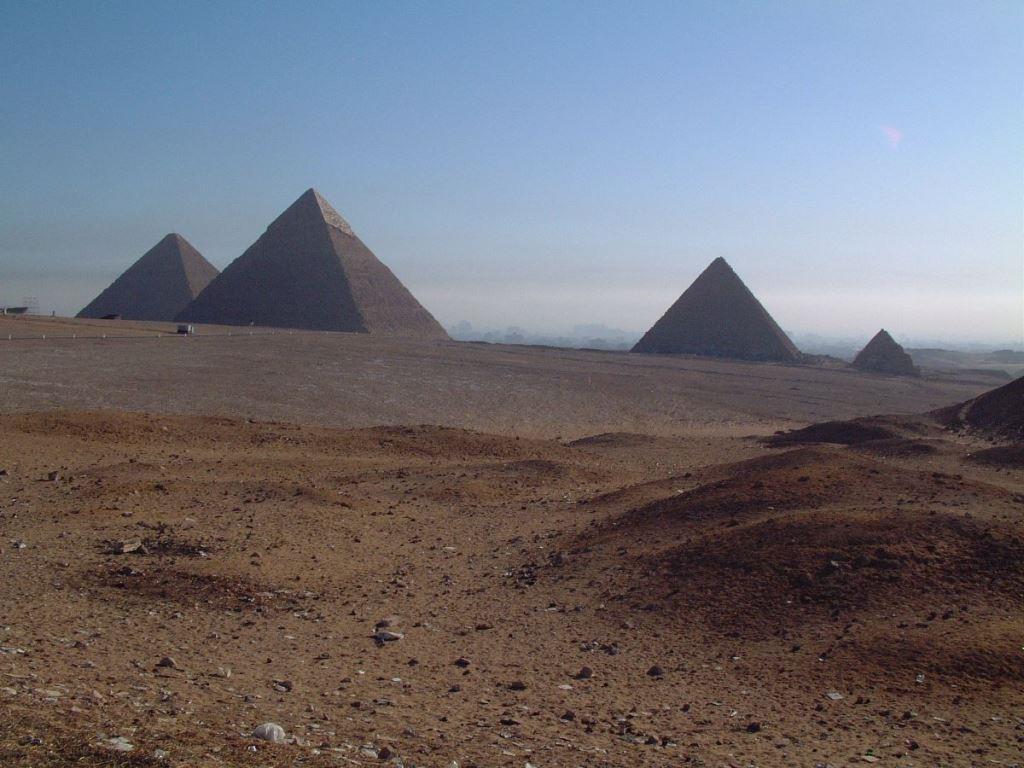 ギザの四大ピラミッド