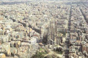 バルセロナ サグラダファミリア教会