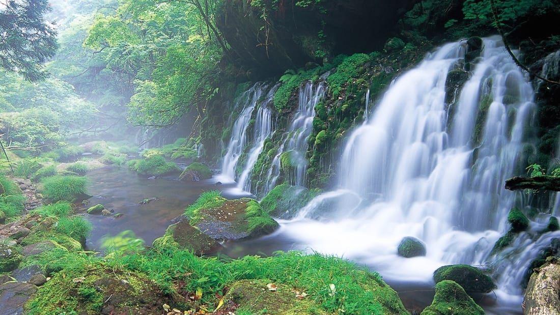 鳥海山の滝(秋田)