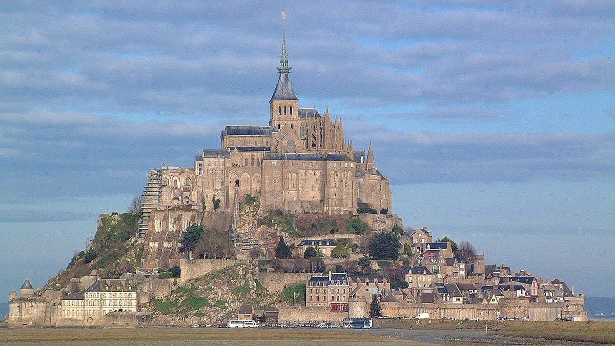 フランス モンサンミッシェル
