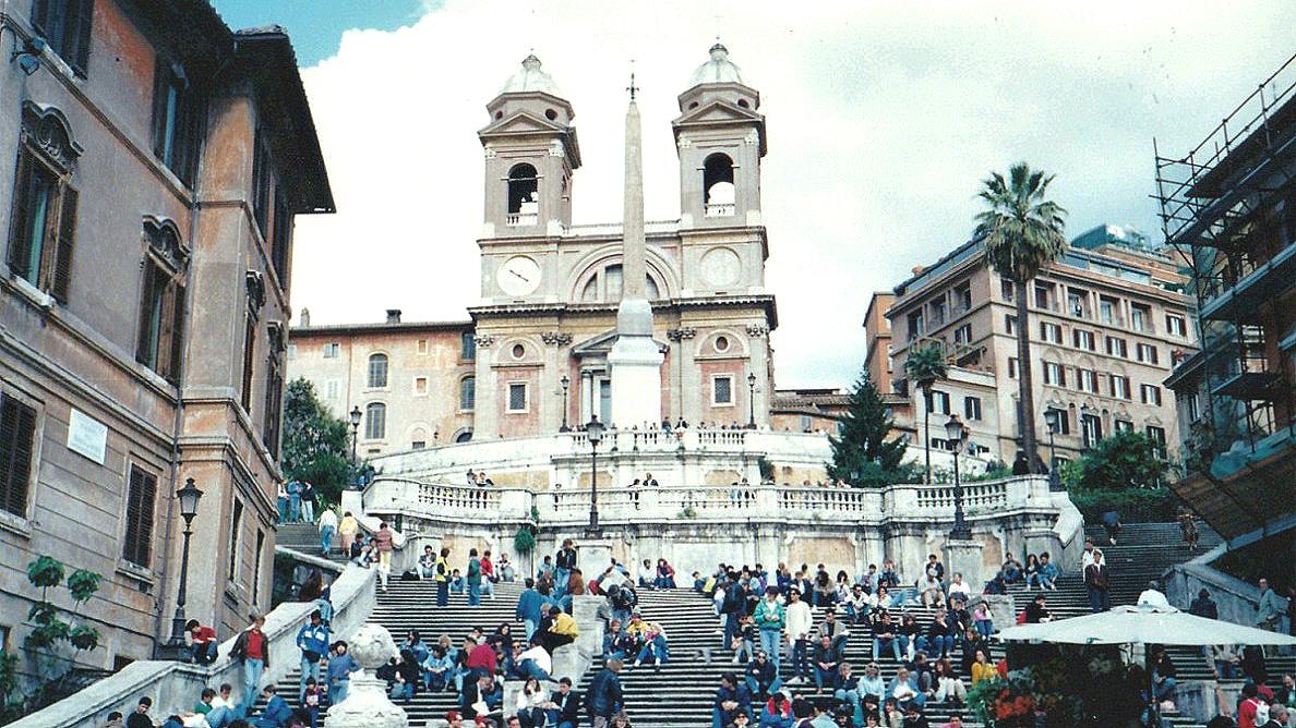 イタリア スペイン階段
