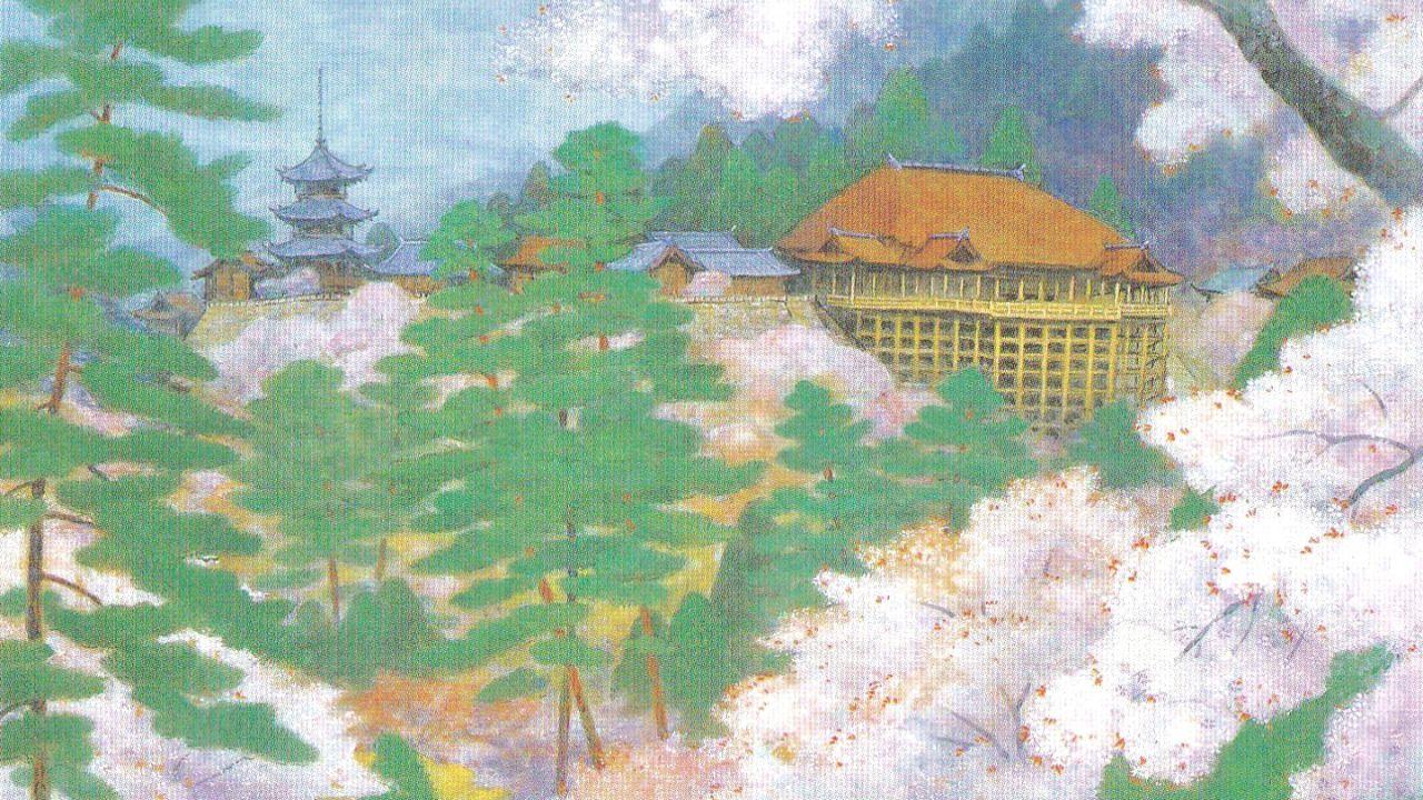 桜の清水寺